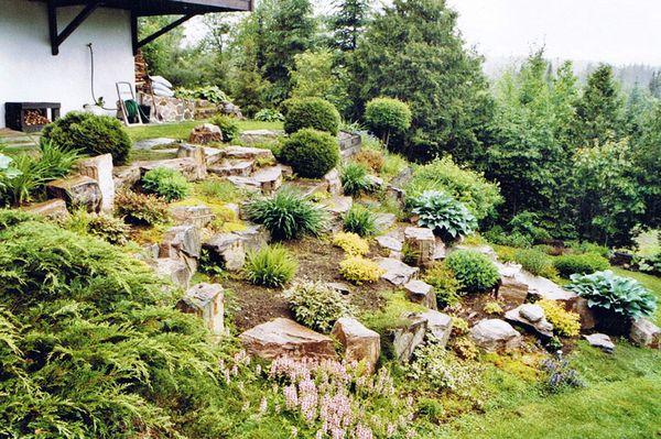 04 rocaille et plantation plantation arbustes et vivaces. Black Bedroom Furniture Sets. Home Design Ideas
